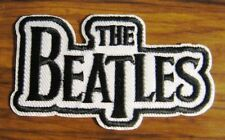 THE BEATLES Fab 4 Vintage Pop Rock Band Music Sew Patch Iron On Clothing Patches