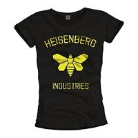 Heisenberg Damen T-Shirt GOLDEN MOTH Pinkman Walter Breaking Bad Top Frauen Geek