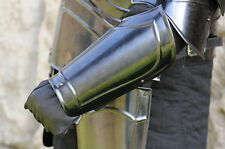 Medieval 15th Century Steel Bracers - SNSA9301-O4A