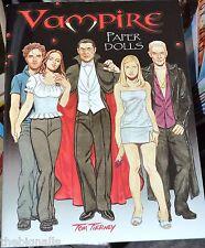 Vampire Papier Poupées Livre Tom Tierney