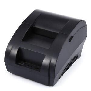 Mini Portable ZJ-5890K 58mm ESC/POS Receipt Thermal Line Printer with USB Port