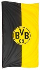 FAHNE FLAGGE HISSFAHNE 200 x 100 BORUSSIA DORTMUND BVB NEU