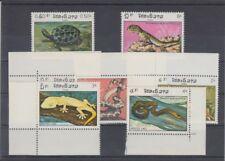 Laos  773 - 79  Reptilien  Schlangen  Schildkröte etc.    **  (mnh)