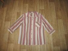 Gestreifte Bonita Damenblusen, - tops & -shirts in Übergröße