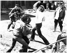 CLINT EASTWOOD great fight scene 8x10 still EVERY WHICH WAY BUT LOOSE -- b260