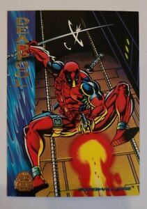 Marvel Cards Universe 1994 Deadpool - BRAND NEW MINT CHASE 💥
