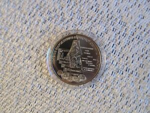 """Ukraine -5 Gryvnas coin 2006 """"10th anniv.of the Recovery of Ukrainian Currency"""""""