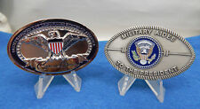PRESIDENT OBAMA WHITE HOUSE & MILITARY AIDES TO THE PRESIDENT OVAL COIN'S SET