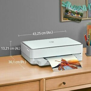 HP ENVY 6032 Wireless All in One Colour Inkjet Printer Auto Duplex RRP £99.99