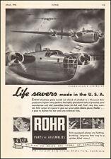 1943 WW2 AD ROHR Aircraft Parts and Assemblies , ART B-24 Liberators  050817