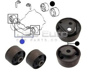 LEXUS RX300 RX350 1998-2008 Rear Diff Arm Bush / Bushes For Differential x4