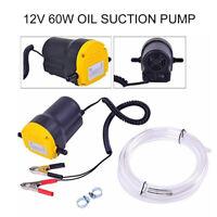 Elettrica Pompa Aspirazione Per Aspirazione Olio Auto Motore e Gasolio 60W 12V
