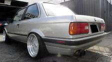 JNC004 17x8.5 17x10 BMW E30 4X100 / 4X114.3 Silver Polish Lip Wheels 318 325 323