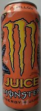 NEW JUICE MONSTER PAPILLON ENERGY + JUICE DRINK 16 FL OZ FULL CAN FREE SHIPPING