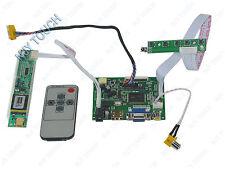 PCB800099 HDMI VGA 2AV Remote Control IR LCD LED Controller Board LVDS DIY Panel