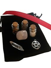 Pagan Wicca Witchcraft Charm Supplies Purse