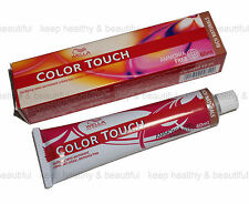 6x Wella Color Touch semi-permanent creme Hair Colour 60 ml FREE post