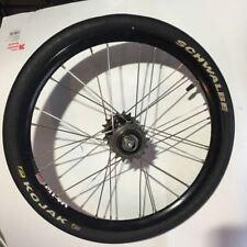 "16"" White Industries ENO + Sun M14A rear wheel for folding bike Schwalbe"
