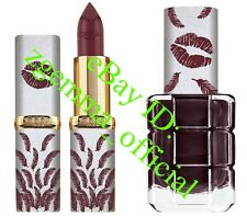L'Oreal Beauty and The Beast Lipstick & Nail Varnish Limited Edition - FIFI/PLUM