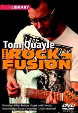 Bibliothèque lécher apprendre à jouer rock à la fusion Guitare Électrique DVD TOM Quayle funk