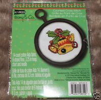 Studio 18 Mary & Co. Engelbreit Christmas Bells & Holly Counted Cross Stitch KIt