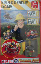 FIREMAN SAM - SPIN & RESCUE GAME - for ages 3+