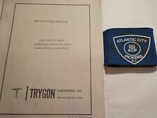 Trygon Cr20-150 S4828 Intermediate Regulation Series Instruction Manual