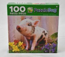 Little Pink Piglet NEW 100 Piece Puzzle CrayZArt Puzzlebug