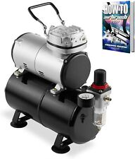 1/5 HP Airbrush Air Brush Compressor Kit With 3L Tank Paint Hobby Cake Tattoo