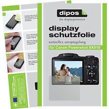 6x dipos Canon Powershot SX510 Film de protection d'écran protecteur antireflet