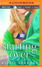 Starting Over by Barbie Bohrman (2016, MP3 CD, Unabridged)