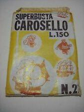 SUPERBUSTA SORPRESA CAROSELLO POPEYE FELIX BLISTERATO 1970 BIANCONI RARA!