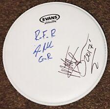 Matt Sorum & Steven Adler Signed Guns N Roses Autographed Drumhead Inscribed