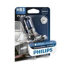 Genuine Philips HB3 Diamond Vision Headlight Bulb (Single) 9005DVB1