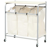 Honey-Can-Do Ironing and Sorter Combo Laundry Hamper with Built-in Ironing Board