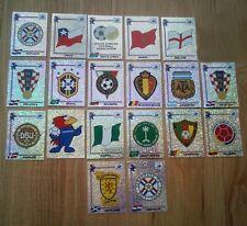 Soccer Panini World Cup France 1998 Cards  Badges  Emblem  Foil PICK 1 FAVORITE