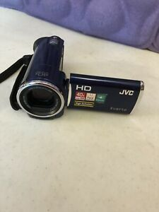 JVC Camcorder HD EVERIO GZ-HM30AU 40x Zoom Face Detection Stabilizer No Charger