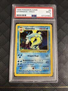 1999 Pokemon Base Set Gyarados, PSA 9 Mint, 5/102 Holo Rare - Unlimited