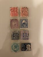 New South Wales Australia Estate Early Collection Postage Stamps Used Lot of 8