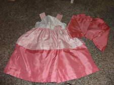 GYMBOREE 5-6 PINK GORGEOUS DRESS JACKET SET SPRING CELEBRATIONS