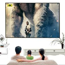 Theater HD 4K Indoor Outdoor Projector Screen Accessories Projection Anti-light