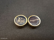 Vintage style Campagnolo 50th Anniversary gold Handlebar End Plugs