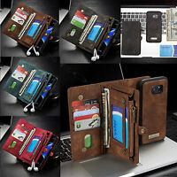 Samsung Galaxy Note 9 /8Leather Removable Wallet Magnetic Flip Cards Case Cover