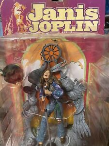 SEALED JANIS JOPLIN 6 Inch Action Figure Stage SPAWN Todd McFarlane