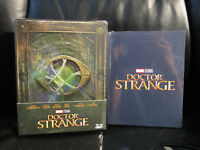 Doctor Strange 3D/2D Blu-Ray [Czech] Steelbook New + 6 Limited Ed. Art Cards