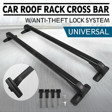 Universal Adjustable Aluminum 43.3INCH Roof Rack Cross Bar Car Top Luggage