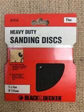 CLEARANCE LOT368 BLACK & DECKER HEAVY DUTY MESH DRILL SANDING DISCS FINE GRADE