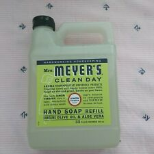 Mrs. Meyer's Lemon Verbena Liquid Hand Soap Refill 33oz/975ml Fast Shipping NEW
