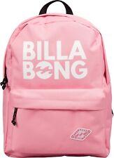 BILLABONG WOMENS BACKPACK.HYDE PINK RUCKSACK BAG.SCHOOL/UNI 22 LITRES 8W 2 2521
