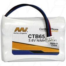 CTB65 3.6V NiMH Cordless Phone Battery